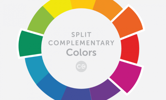 Split Complementary Colors Header
