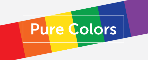 Pure colors section header