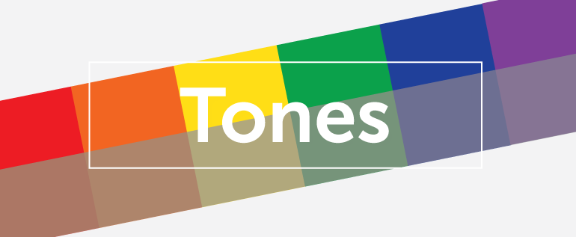 Tones section header