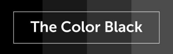 Color Psychology of Black