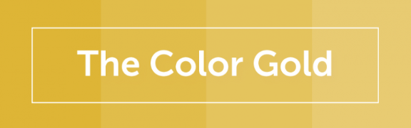 Color Psychology of Gold