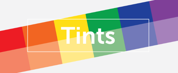Tints section header